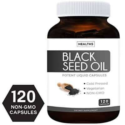 Best Black Seed Oil 120 Softgel Capsules