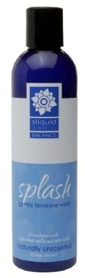 Sliquid Splash 8.5-ounce Feminine Wash Unscented