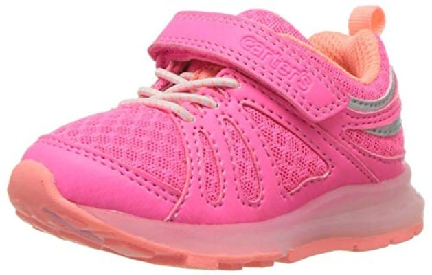Carter's Baby Shelby Boy's and Girl's Light Sneaker, Pink