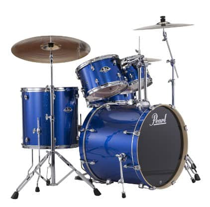 Pearl EXX725S:C 5-Piece Export New Fusion Drum Set with Hardware