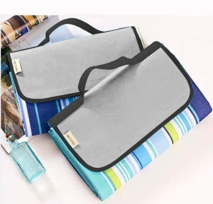 WeTong Extra Large Outdoor Waterproof Backing Foldable Picnic Blanket