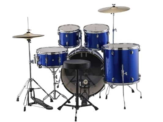 Ludwig Accent Drive Blue 5-Piece Drum Set