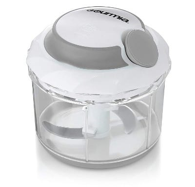 Gourmia GSC9285 Swift Chopper Pull String Manual Food Processor