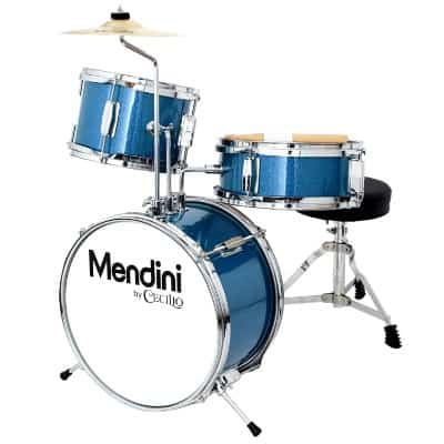 Mendini by Cecilio 13 Inch 3-Piece Kids:Junior Drum Set