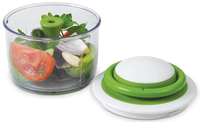 Chef'n VeggiChop Hand-Powered Food Chopper