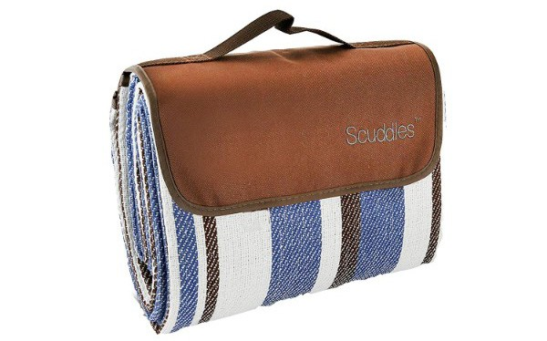 Scuddles Extra Large Picnic & Outdoor Blanket Dual Layers for Outdoor Water-Resistant