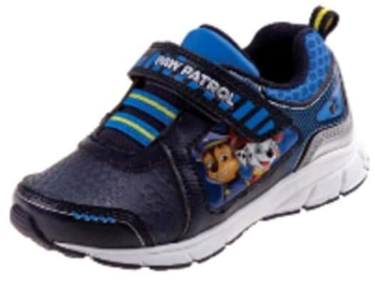 Paw Patrol Boys' Toddlers Blue:Black:White Sneakers Light Up Shoe