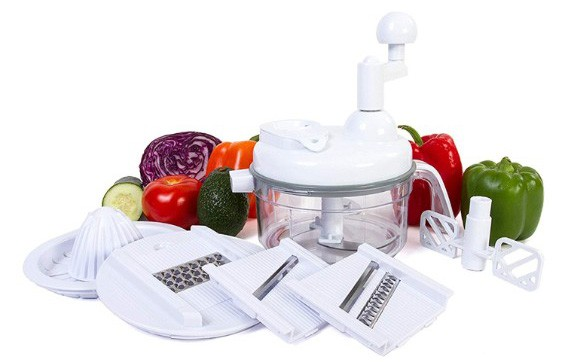 Ultra Chef Express Food Chopper – 7 in 1 Chopper, Mixer, Blender, Whipper, Slicer