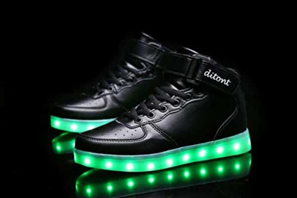 Ditont LED Light Up Shoes Flashing Sneakers with Remote for Kids Boys Girls