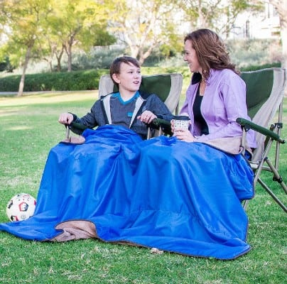 XL Plush Fleece Outdoor Stadium Rainproof and Windproof Picnic Blanket
