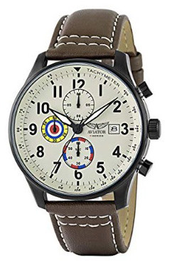 Aviator F-Series Men's Vintage World War II Pilot Design Watch