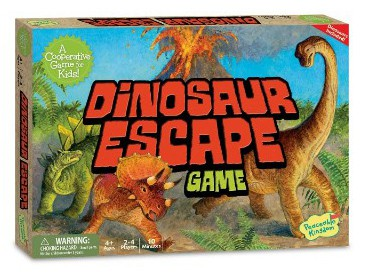 Peaceable Kingdom Dinosaur Escape Award Winning Cooperative Game