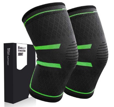Bolly Knee Brace, 1 Pair Compression Knee Support