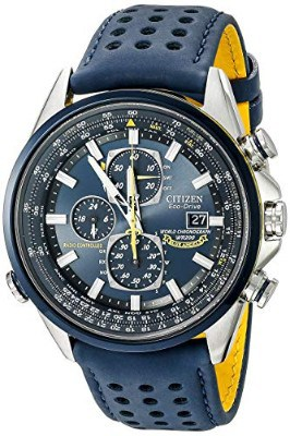 Citizen Men's Eco-Drive Blue Angels World Chronograph Atomic Timekeeping Watch