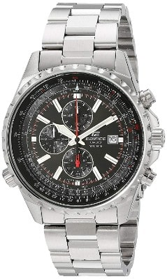 Casio Men's Edifice EF527D-1AV Stainless Steel Multi-Function Watch