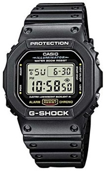 Casio Men's G-shock DW5600E-1V Shock Resistant Black Resin Sport Watch