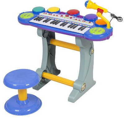 Best Choice Products 37-Key Kids Electronic Musical Instrument Piano Toy Keyboard