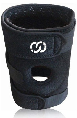 Compressions Knee Brace Support - Neoprene Open Patella Stabilizer with Adjustable Veclro
