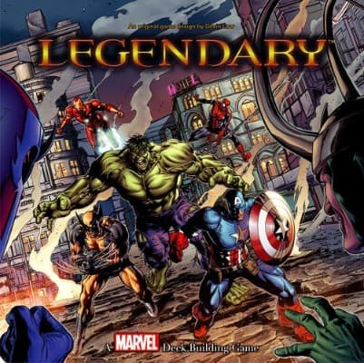 Upper Deck Legendary- A Marvel Deck Building Game