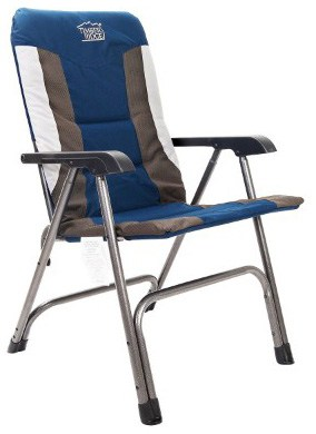 Timber Ridge Camping Chair Portable High Back with Carry Bag Easy Folding
