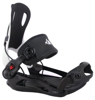 System MTN Men's 2019 Rear Entry Step in Style Snowboard Bindings