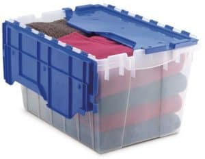 Akro-Mils 66486 CLDBL 12-Gallon Plastic Storage KeepBox