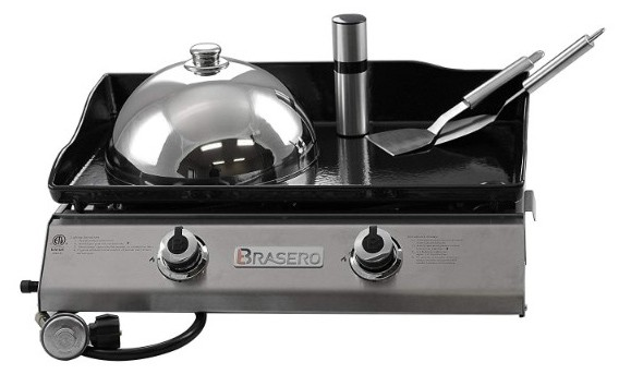 Brasero Portable 26 inch Outdoor Flat Top Gas Griddle