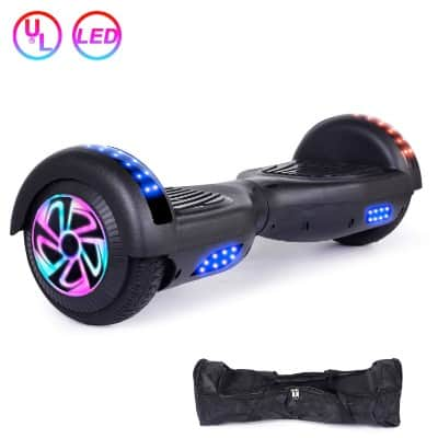 EPCTEK 6.5 inch Hoverboard Two-Wheel Self Balancing Electric Scooter with LED Light