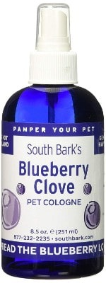 Season Show South Bark's Blueberry Clove Pet Cologne