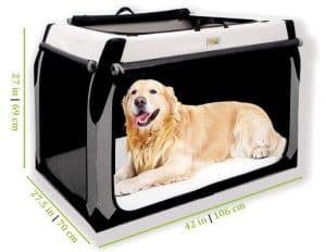 The Folding Soft Dog Crate by DogGoods