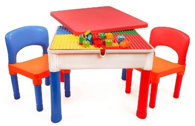 Smart Builder Toys 3 in 1 Major Brands Compatible Activity Table