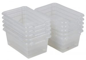 ECR4Kids Scoop Front Storage Bins