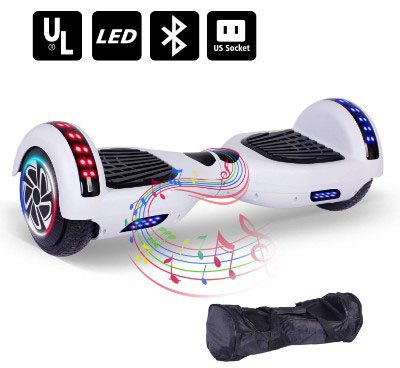 Keepower Hoverboard UL2272 Certified Two 6.5 Wheels Self-Balancing Electirc Scooters