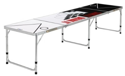 Zaap 8ft Tournament Size Folding Beer Pong : Picnic : Camping Table
