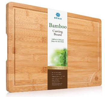 XL BAMBOO CUTTING BOARD SERVING TRAY