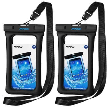 Mpow 084 Waterproof Phone Pouch Floating, IPX8 Universal Waterproof Case