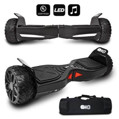 CHO[TM All Terrain Rugged 6.5 Inch Wheels Hoverboard
