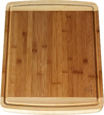 Extra Large Bamboo Cutting Boards for Kitchen with Juice Groove