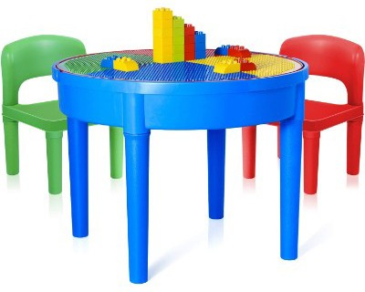 Kids Activity Table, 4in1 Water Table, Play Table, Building Blocks Table, and Storage