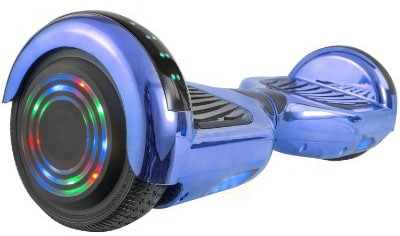 WorryFree Gadgets Hoverboard Self Balancing Electric Scooter with Bluetooth Speaker