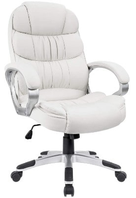 Homall Office Chair High Back Computer Desk Chair, PU Leather Adjustable Chair
