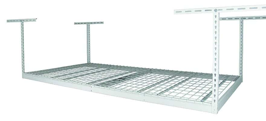 SafeRacks Factory Second - 4x8 Overhead Storage Rack Heavy Duty (24-45 Ceiling Drop)