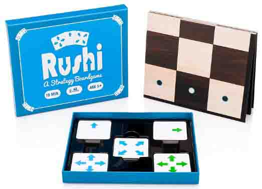 Nexci Rushi Strategy Tile Game- 2 Player Board Game