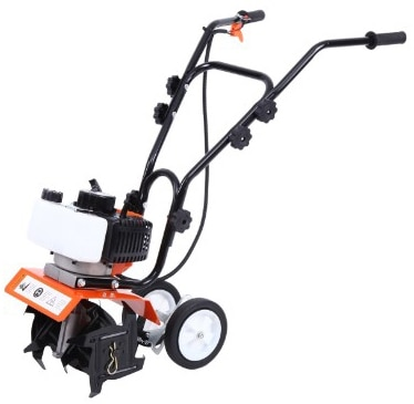 Ridgeyard 1.65KW Commercial 52cc 2-Cycle Gas Powered Tiller Cultivator Garden Yard Grass Mini