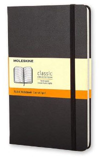 Moleskine Classic Hard Cover Notebook, Ruled, Large