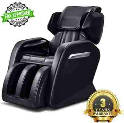 OOTORI Full Body Electric Massage Chair, Zero Gravity Neck, Back, Legs, and Foot Shiatsu Massager