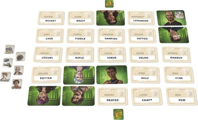 Codenames- Duet - The Two Player Word Deduction Game