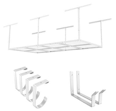 Fleximounts Overhead Garage Rack, 4 x 8ft
