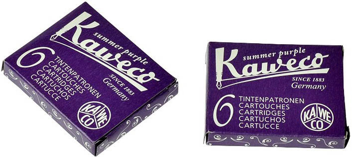 Kaweco Fountain Pen Ink Cartridge Short Purple Violet