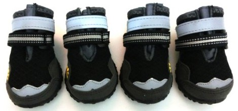 Xanday Breathable Dog Boots, Mesh Dog Shoes, Paw Protectors